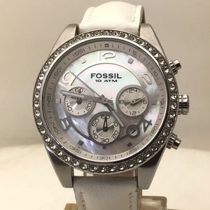 Fossil Chronograph MOP Dial